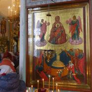 13 апреля в храме в честь иконы Божией Матери «Живоносный Источник» прихода Воскресения Христова отметили престольный праздник.
