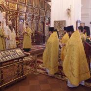 Митрополит Георгий совершил Божественную литургию в арзамасском Свято-Николаевском женском монастыре