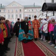 Митрополит Георгий совершил Божественную литургию в арзамасском Свято-Николаевском монастыре