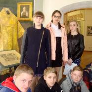 В школе № 7 прошел классный час, посвященный жизни Святейшего Патриарха Сергия (Страгородского)