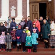 Воспитанники объединенной воскресной школы благочиния совершили паломническую поездку в село Большое Туманово