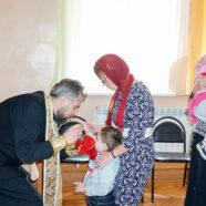 50 детей, состоящих на социальном обслуживании в ГБУ «РЦДПОВ города Арзамаса», причастились Святых Христовых Тайн
