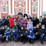 Учащиеся воскресной школы Воскресенского кафедрального собора совершили паломничество в Санаксарский монастырь