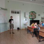 В Воскресной школе прошла встреча с представителем Горьковской железной дороги
