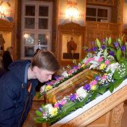 В Арзамасе молитвенно помянули священномученика Николая Троицкого
