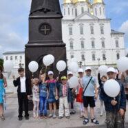 На площади Сергия Страгородского в г. Арзамасе собрались волонтеры социального центра «Отрада и Утешение» и в течение двух часов на автостанции города Арзамаса раздавали листовки, буклеты, стикеры с информацией против абортов.