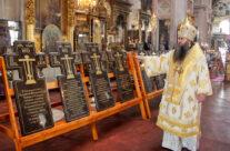 Митрополит Георгий совершил Божественную литургию в Воскресенском кафедральном соборе города Арзамаса