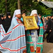 В Арзамасе торжественно встретили святыню возрождающегося Алексеевского монастыря
