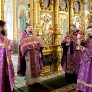 В храмах благочиния встретили праздник Торжества Православия