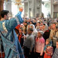 В храмах города Арзамаса совершены молебны на начало учебного года