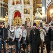 В Татьянин день молодежь Арзамаса приняла участие в Патриаршем богослужении