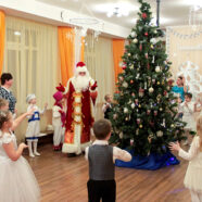 Рождественские праздники прошли в православном детском саду