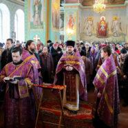 Праздник Торжества Православия встретили в храмах благочиния