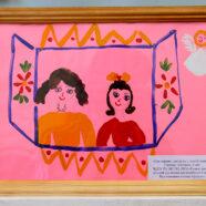 Подведены итоги благочиннического этапа конкурса детского рисунка «Мамочка – мой ангел!»