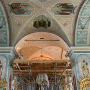Начался ремонт в зимней церкви арзамасского Воскресенского кафедрального собора