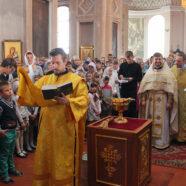 В храмах благочиния совершены молебны на начало учебного года