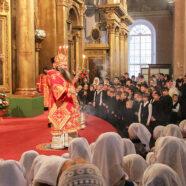 Митрополит Георгий совершил всенощное бдение в Воскресенском кафедральном соборе Арзамаса