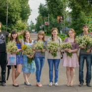 Православная молодежь поздравила арзамасцев  с Днем семьи, любви и верности