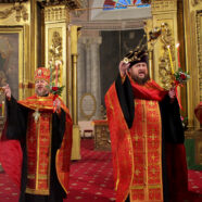 В канун престольного праздника в Воскресенском соборе прошло торжественное богослужение