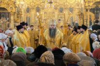 Митрополит Георгий совершил Божественную литургию в зимней церкви Воскресенского кафедрального собора Арзамаса