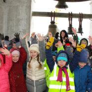 В Светлую седмицу арзамасские школьники побывали на колокольне Воскресенского кафедрального собора