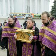 В Арзамас прибыл ковчег с частицей святых мощей блаженной Матроны Московской