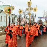 В Арзамасе прошел традиционный общегородской Пасхальный крестный ход