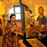 В день памяти священномученика Николая Троицкого, во Владимирском храме Арзамаса состоялось соборное богослужение.