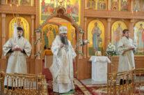 Состоялось освящение Никольского храма арзамасского Свято-Николаевского монастыря и передача в обитель ее древней святыни