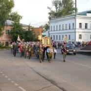 Из Арзамаса в Дивеево вышел традиционный крестный ход