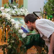 Престольный праздник встретили в арзамасской церкви в честь Святого  Духа