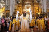 Митрополит Георгий совершил Божественную литургию в Воскресенском кафедральном соборе Арзамаса