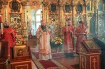 Митрополит Георгий возглавил Всенощное бдение в зимней церкви Воскресенского кафедрального собора города Арзамаса