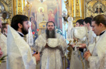 Митрополит Георгий совершил Божественную литургию в приходе Воскресенского кафедрального собора Арзамаса