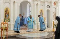 Митрополит Георгий совершил Божественную литургию в Смоленской церкви арзамасского подворья Дивеевского монастыря