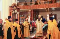 В канун престольного праздника Свято-Николаевского женского монастыря Арзамаса митрополит Георгий возглавил всенощное бдение в обители