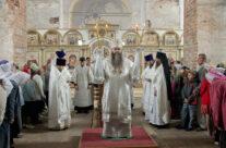 В престольный праздник митрополит Георгий совершил Божественную литургию в Спасо-Преображенском монастыре Арзамаса