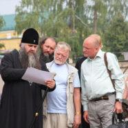Митрополит Георгий провел совещание по дальнейшему восстановлению Спасо-Преображенского мужского монастыря