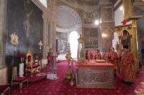 Митрополит Георгий возглавил Божественную литургию в Воскресенском кафедральном соборе Арзамаса