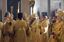 Митрополит Санкт-Петербургский и Ладожский Варсонофий возглавил всенощное бдение в Воскресенском кафедральном соборе города Арзамаса