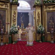 Святейший Патриарх Московский и всея Руси Кирилл совершил Божественную литургию в Арзамасе