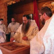 Освящение храма в скиту арзамасского Свято-Николаевского женского монастыря монастыря