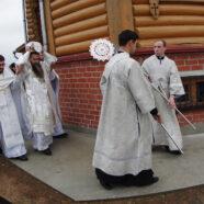 В деревне Новая Слобода Арзамасского района состоялось Великое освящение храма в честь Рождества Иоанна Предтечи