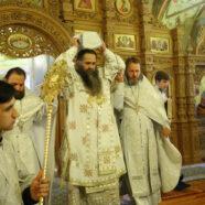 В Благовещенской церкви Спасо-Преображенского монастыря Арзамаса освящен придел во имя Трех Святителей