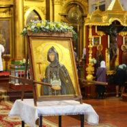 Состоялись торжества, посвященные принесению иконы преподобной Олимпиады Киевской и Арзамасской с частицей мощей