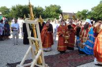 В селе Заречное Арзамаского района установлен крест на восстанавливающуюся церковь во имя Архангела Михаила