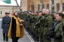 В расположенной в Арзамасе воинской части состоялось принятие присяги молодым пополнением