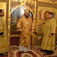 Викарий Нижегородской епархии возглавил богослужении в одном из храмов Арзамасского благочиния