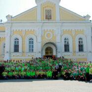 Арзамасские добровольцы приняли участие в торжествах, посвященных 25-летию второго обретения мощей преподобного Серафима Саровского